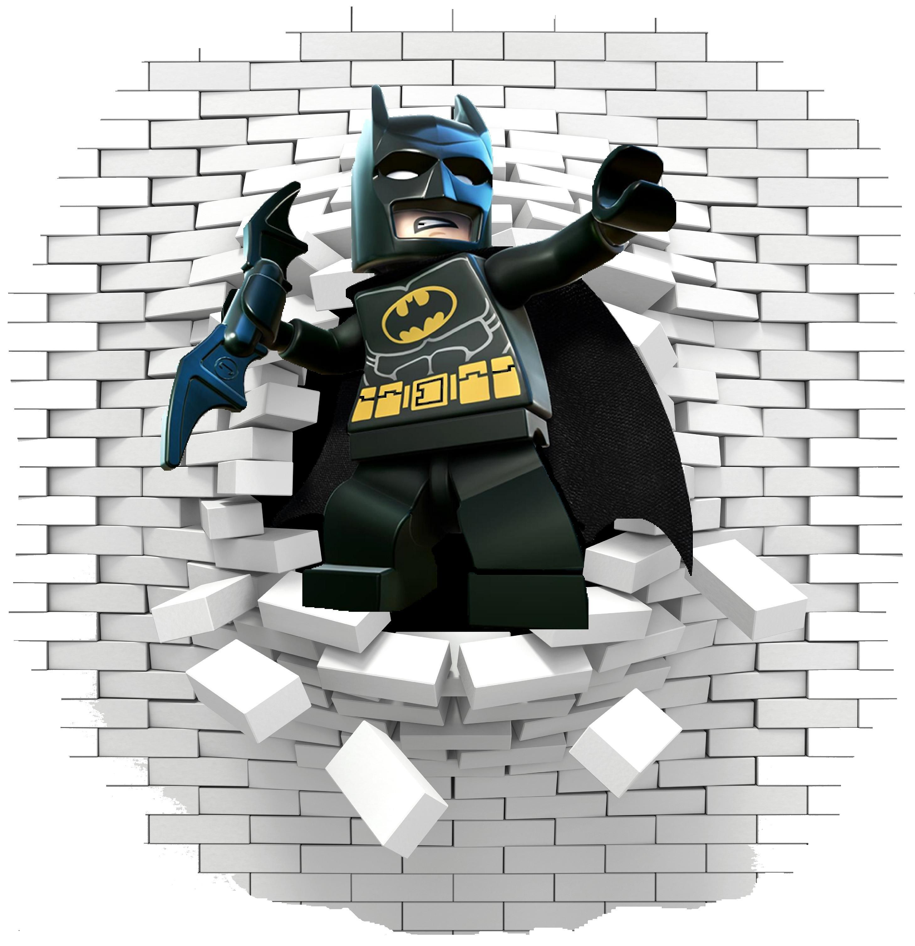 Batman Lego 2 Wall Stickers Ans Decals Spiderman Wall Decals