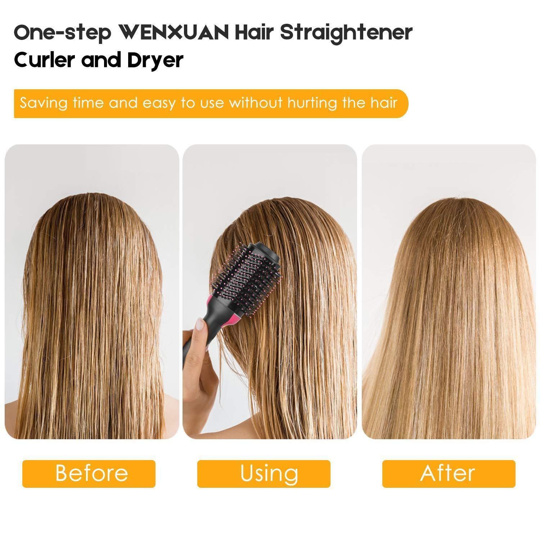 3 in 1 Electric Hair Dryer Volumizer Brush Rotating Hot