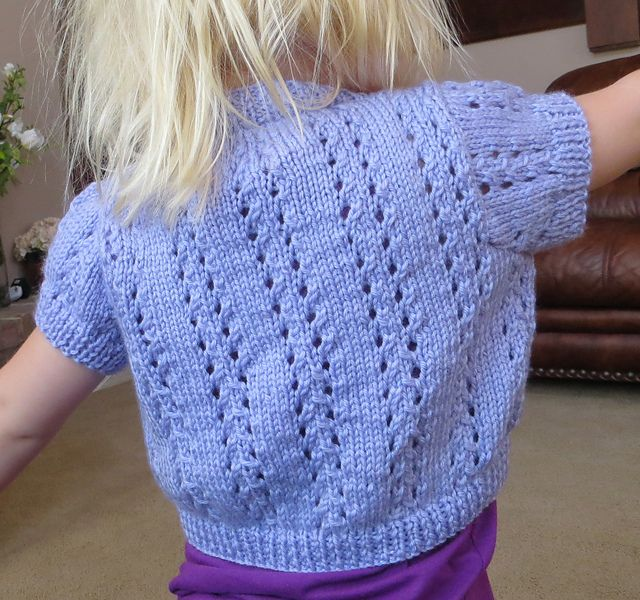 Ravelry: Lace Bolero with Short or Long Sleeves pattern by ...