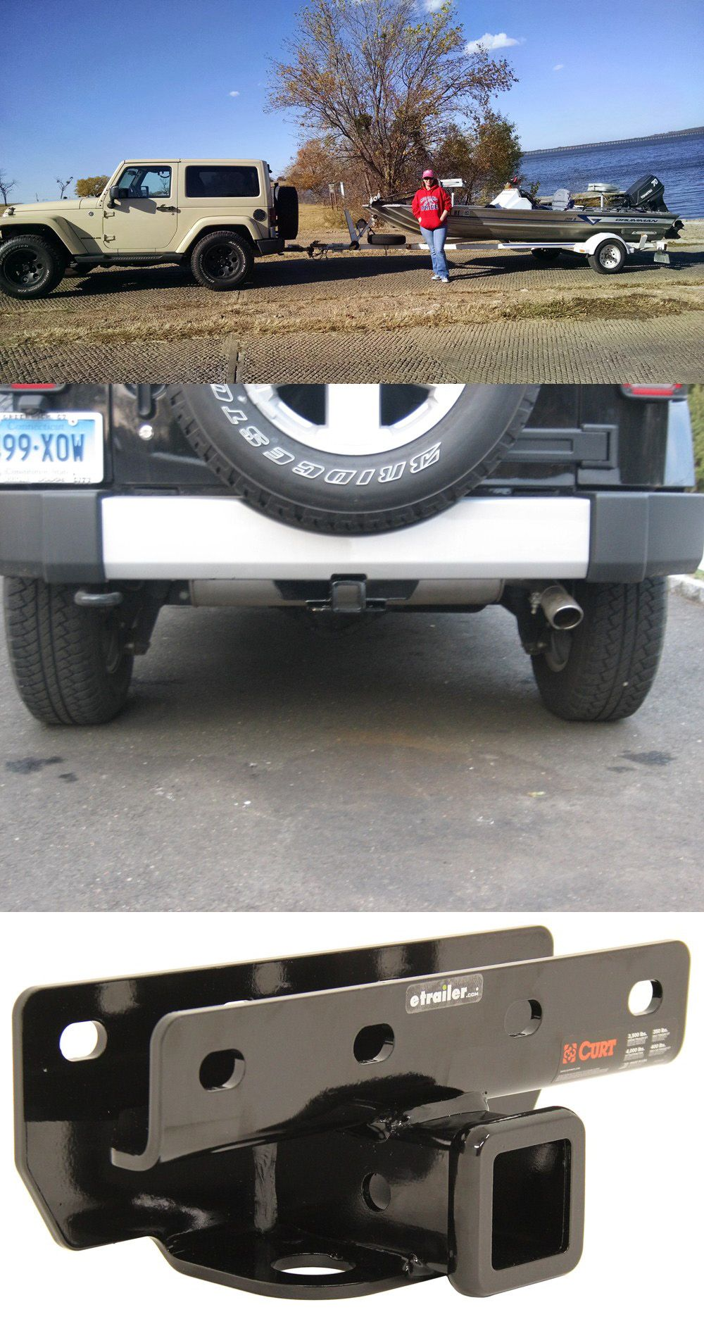2015 Jeep Wrangler · Fully Welded Trailer Hitch ...