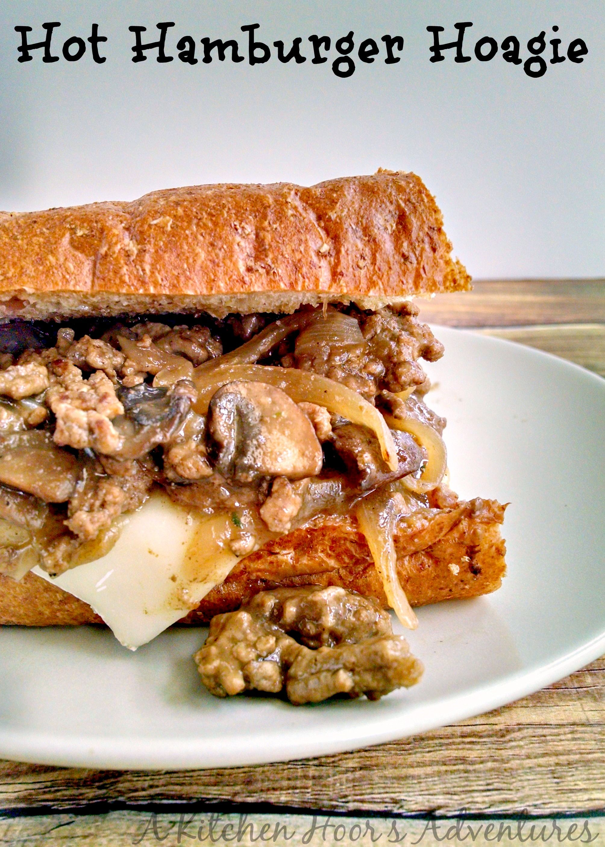 Hot hamburger hoagie receta hamburguesas recetas para - Platos faciles para cocinar ...