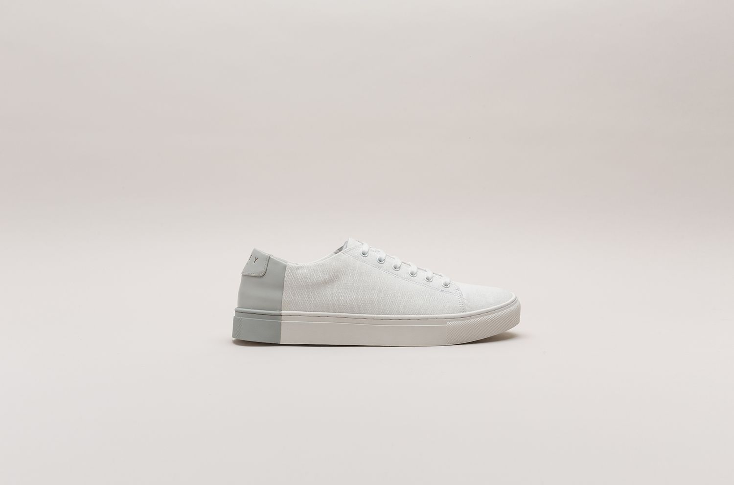 Two-Tone Low in Canvas White-Grey (Men) - SUMMER EXCLUSIVE