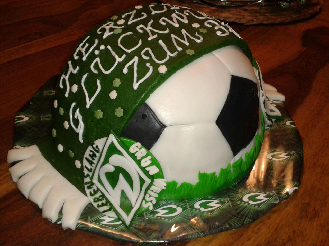 Werder Bremen Cake My Cakes Pinterest Cake