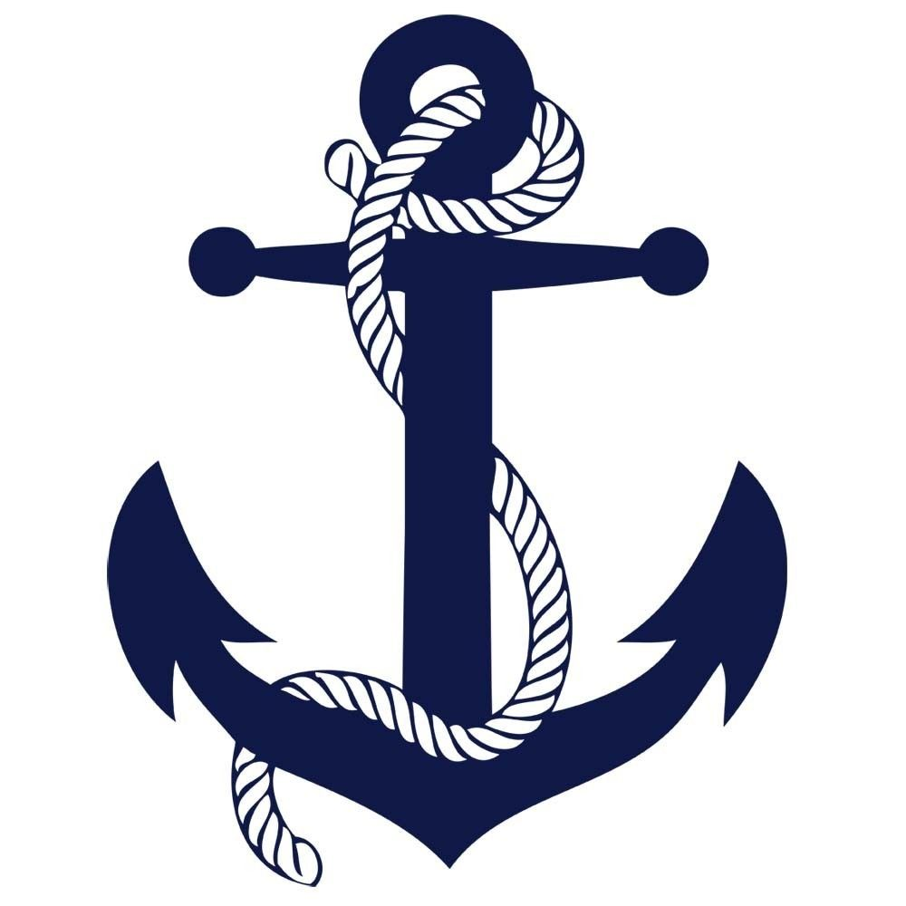 sailors rope and anchor boys room vinyl wall art decal sticker rh pinterest com