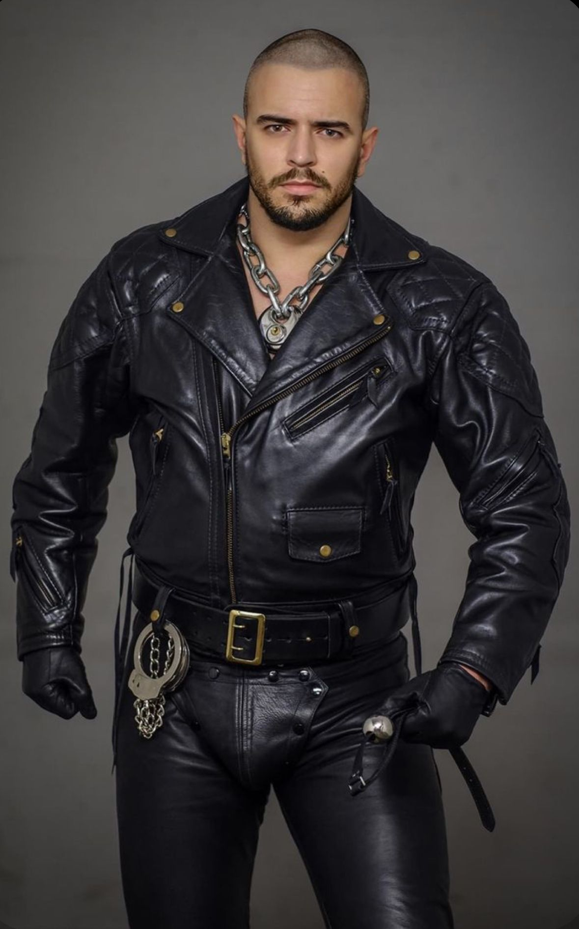 Pin By Jeff On Beard Balm Mens Leather Clothing Tight Leather Pants Leather Gear [ 1891 x 1179 Pixel ]
