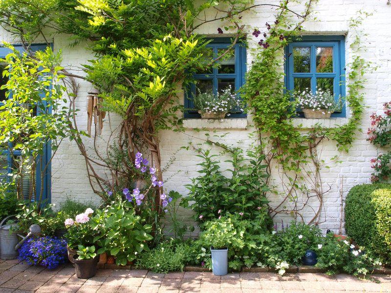 Cottage kitchen garden English country gardens Oxford Garden