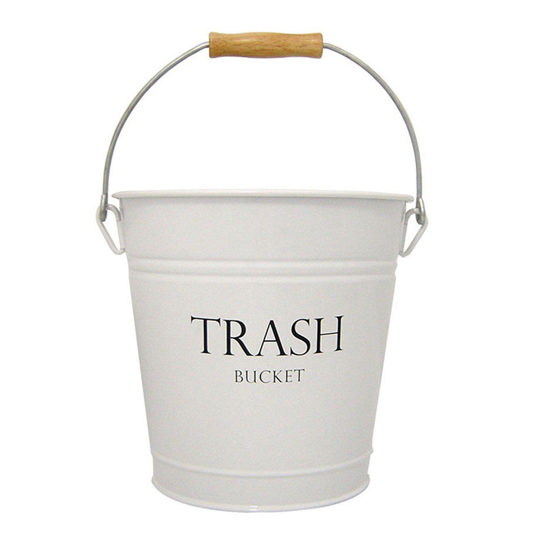 Farmhouse Bathroom Finds Bathroom Trash Can Waste Basket Interdesign
