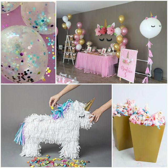 decorazioni fai da te per festa a tema unicorno nel 2019