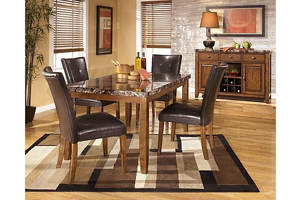 The Lacey Dining Room Chair From Ashley Furniture HomeStore AFHS Rich Contemporary Design Of Collection Features Faux