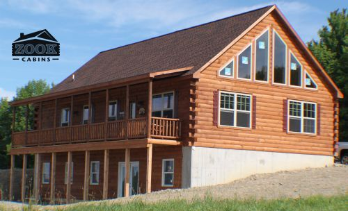 Mountaineer Deluxe Cabin Photos Gallery | Page 1 | Zook Cabins | Log