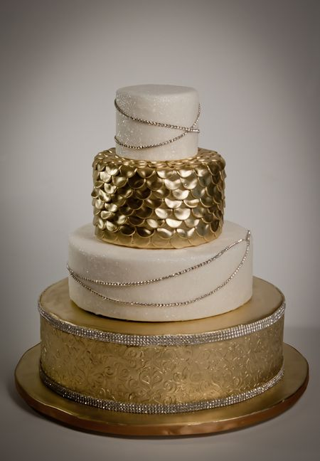 I had not considered a golden cake, but I like this one.