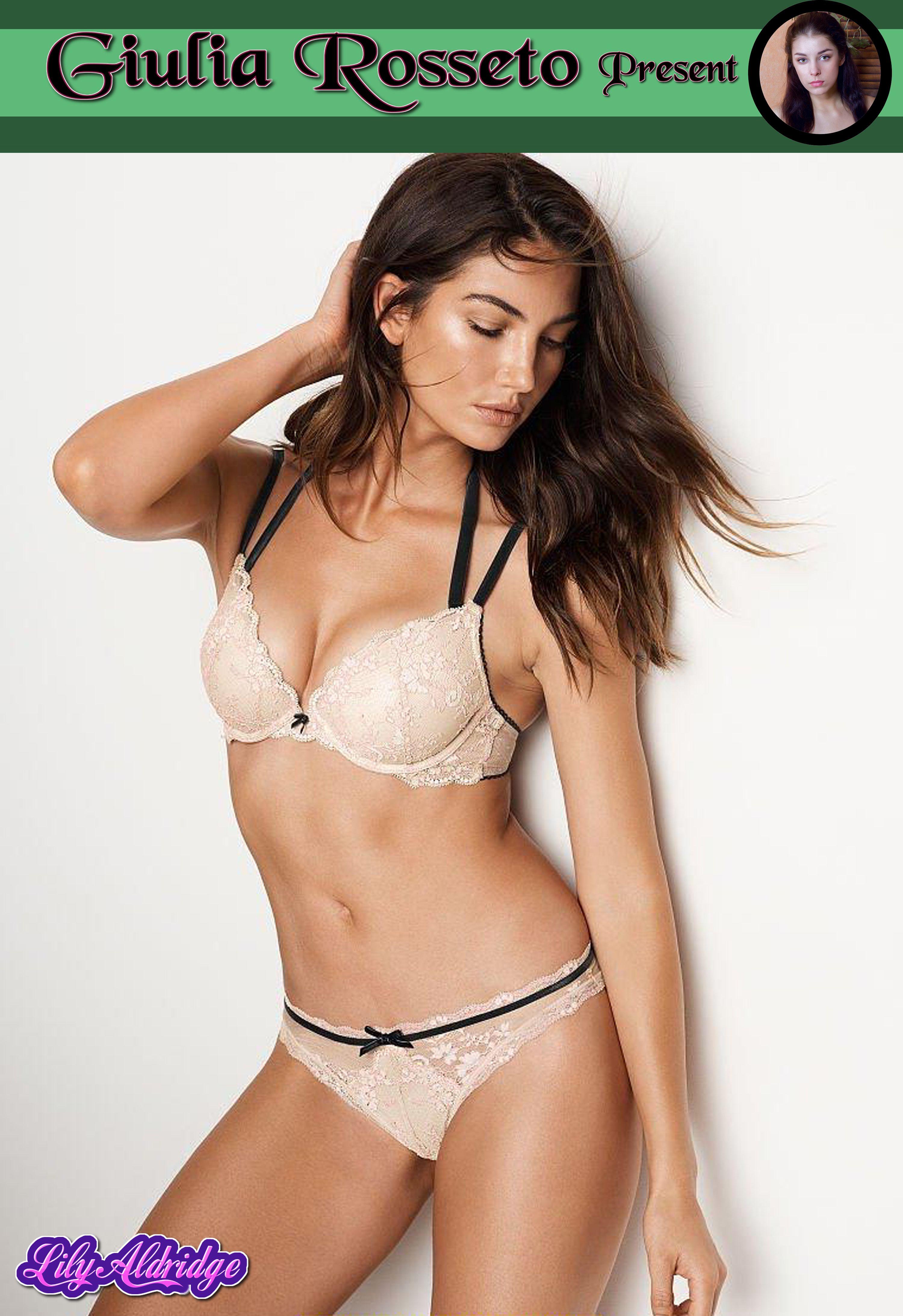 Giulia Rosseto Present Super Models: Lily Aldridge