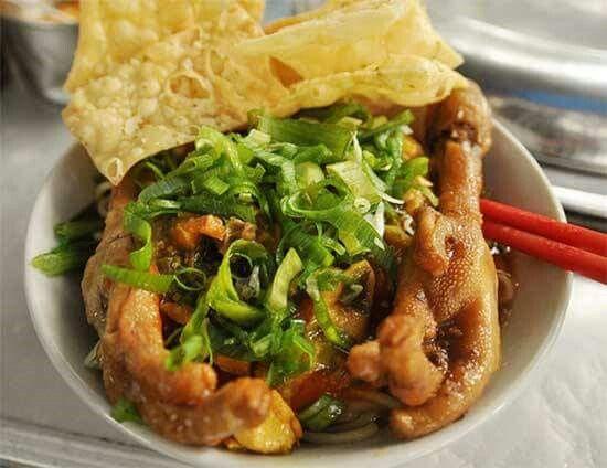Resep Dan Cara Praktis Membuat Mie Ayam Ceker Pedas Yang Fresh Bahan Bahan Yang Diperlukan Untuk Membuat Mie Ayam Solo Yan Resep Masakan Resep Sederhana Resep