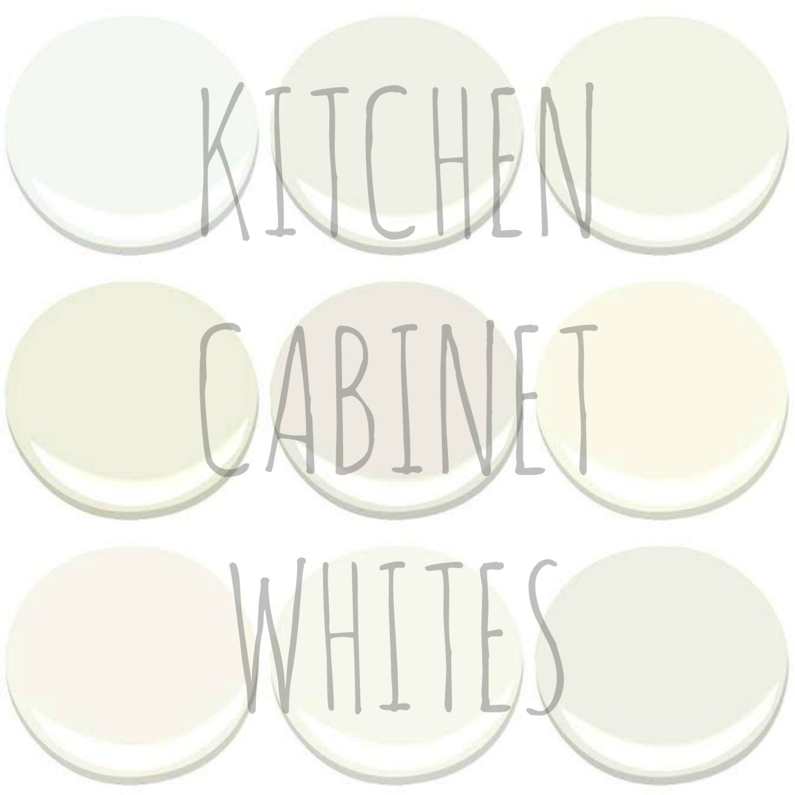 Best Choosing A White For Your Kitchen White Paint Colors 400 x 300