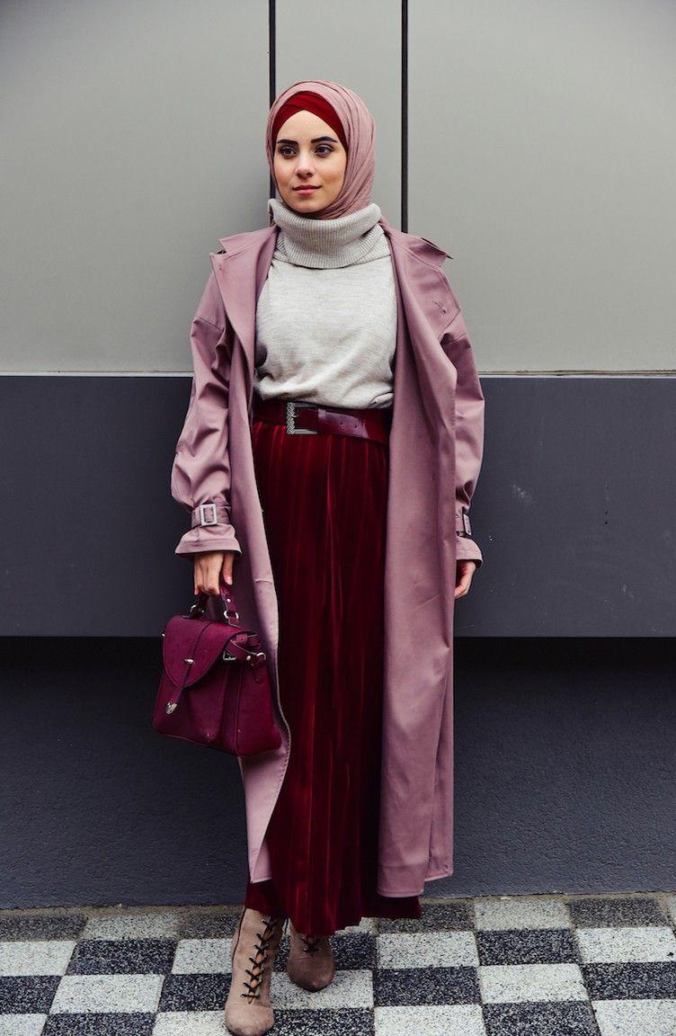 أفضل أنماط الحجاب للفتيات القصيرات لتبدو طويلة Fashion Hijab Fashion Casual Style