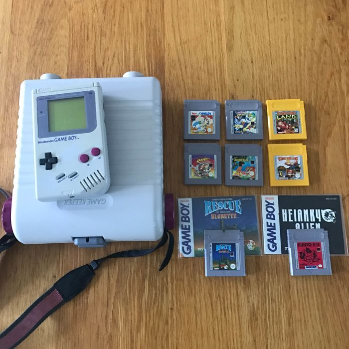 Game Boy Game Keeper Kast Incl 8 Spelletjes Nintendo Game