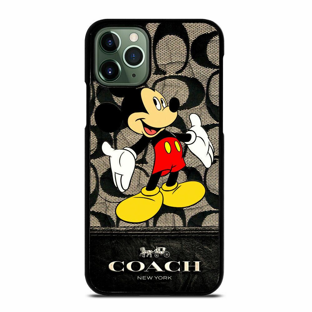 Details about coach12 mickey mouse for iphone samsung