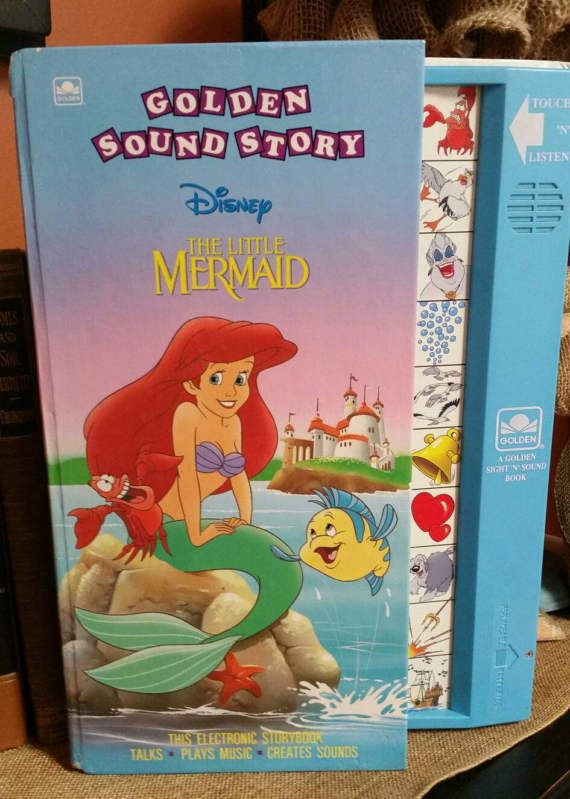 Check out this item in my Etsy shop https://www.etsy.com/listing/503581458/disney-the-little-mermaid-golden-sound