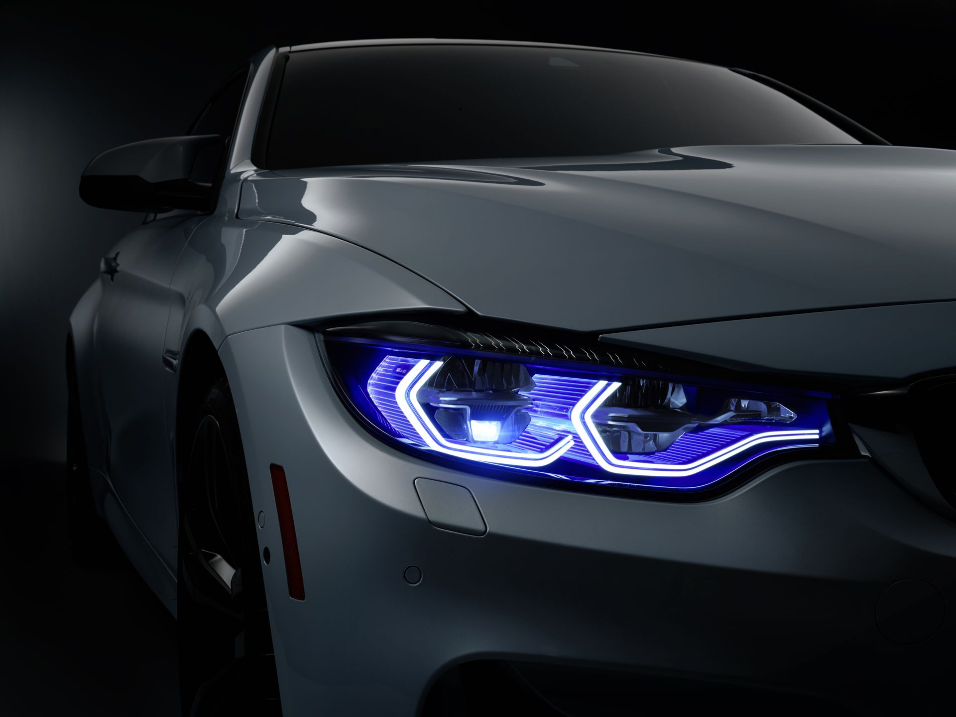BMW M4 Concept Iconic Lights. Introducing BMW's LaserLight 2.0 and OLED