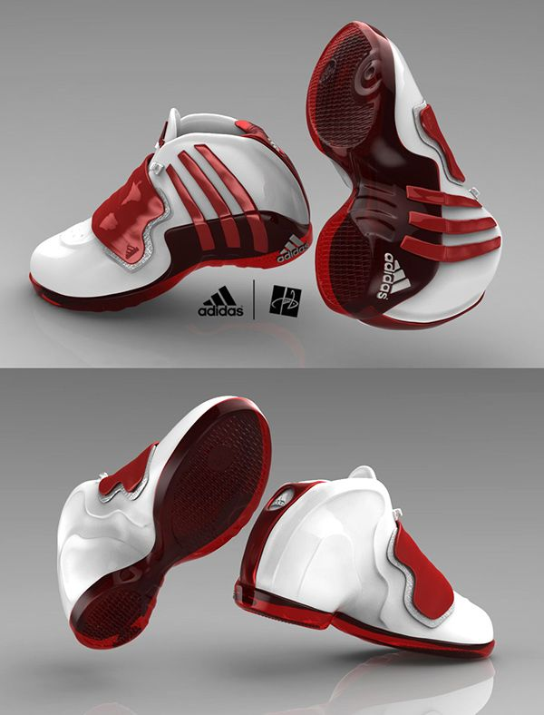 ddf1fe6529da Adidas Jumper - basketball shoe design and 3D visualizaton by ©Deviantom2011