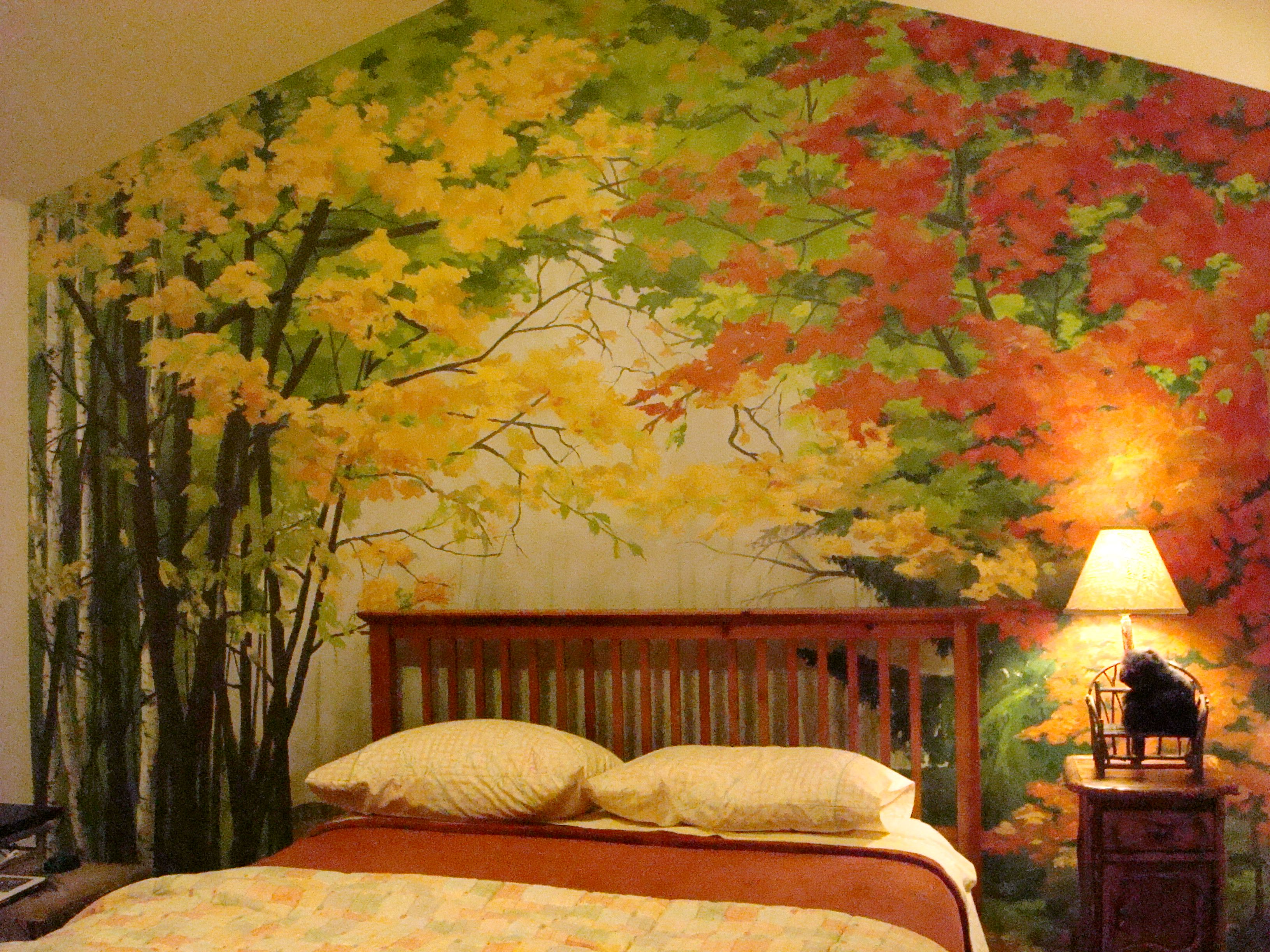 Bedroom Mural By Creative Wallternatives