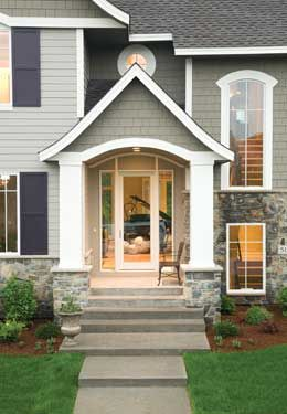 Front stoop awning ideas google search front awning for Front door stoop ideas