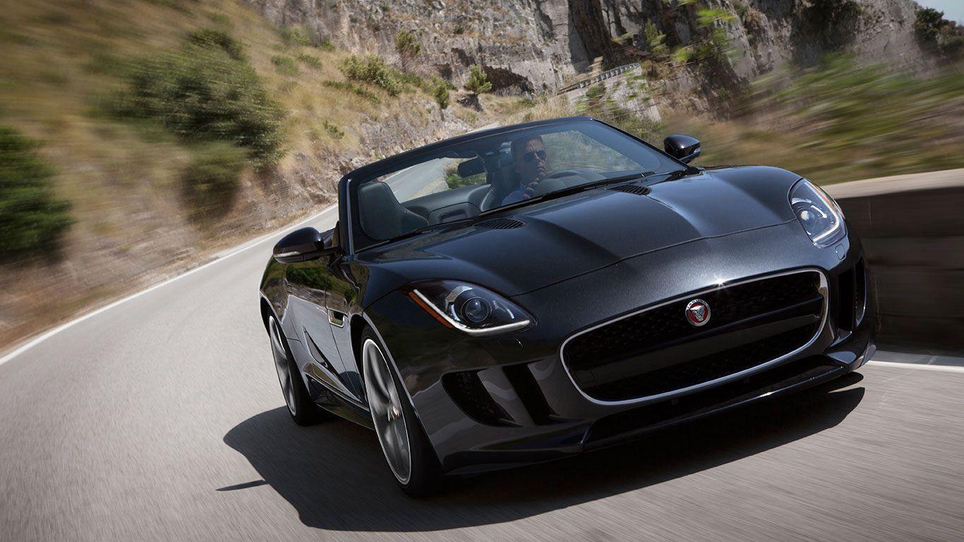 Jaguar F Type Convertible In Stratus Grey Jaguar F Type Jaguar Usa Jaguar