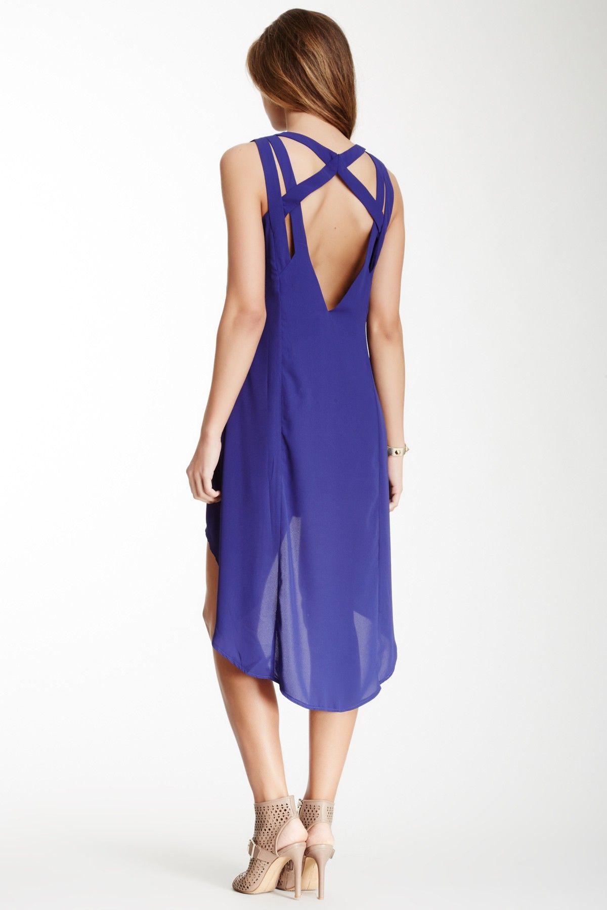 Woven Hi-Lo Dress | Pinterest
