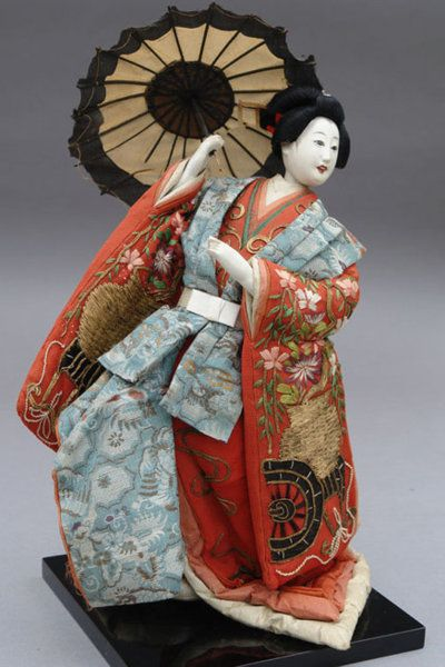 Antique Anese Doll Maiden Of Genroku
