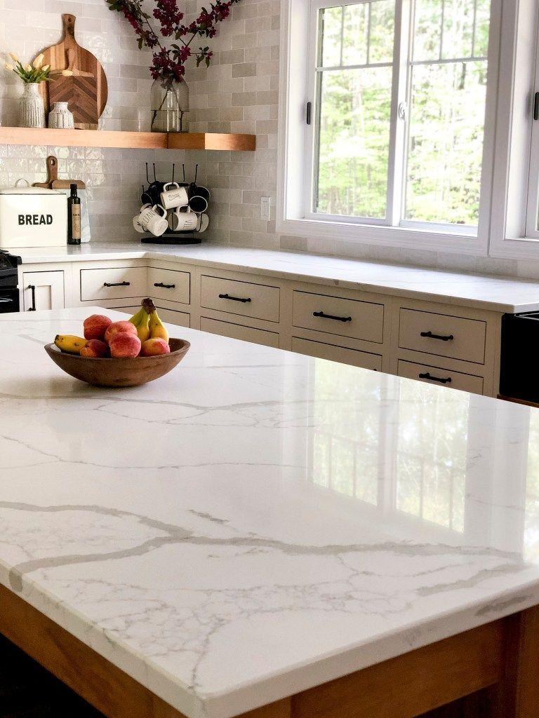 How we decided on marble countertops and how to care for