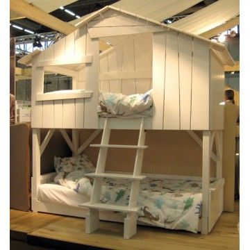 1000 images about chambre clara on pinterest ikea bunk bed raskog cart and lit mezzanine - Mezzanine Chambre Lit Double