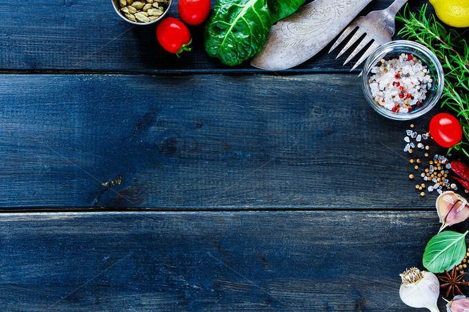 Vegetables And Seasoning Rosarios