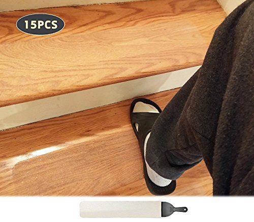 Best 15 Pack 4X 24 Non Slip Stair Tread Anti Slip Clear Tape 400 x 300