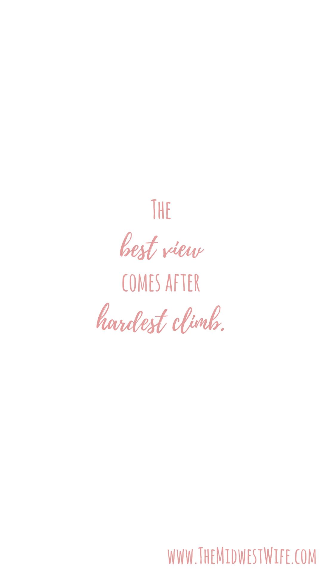 motivation motivational quote minimal white pink iphone
