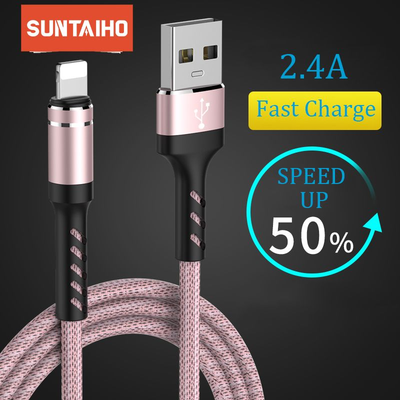 Suntaiho usb cable for iphone cable Xs max Xr X 8 7 6 plus