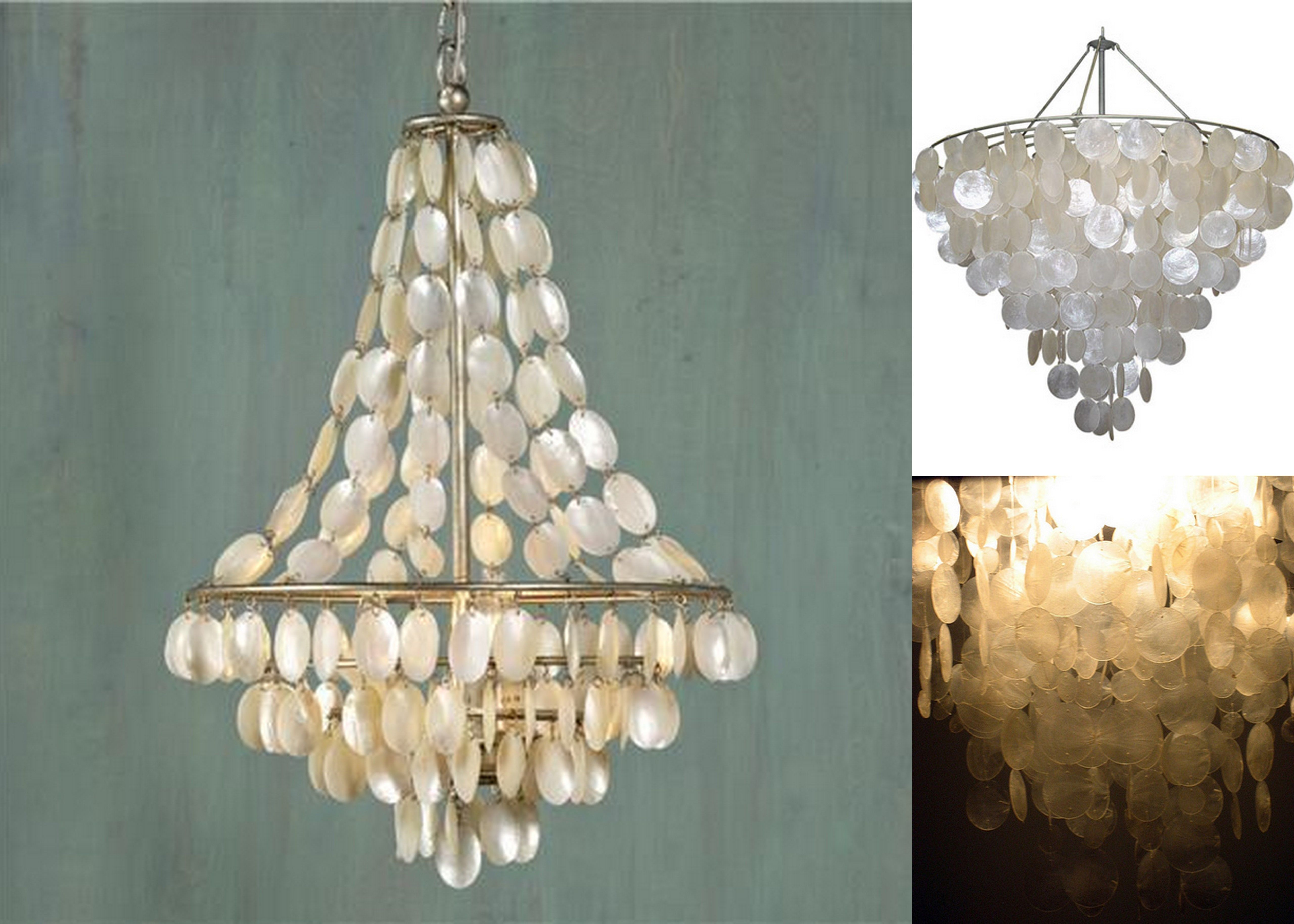 The exotic capiz chandelier for glamour light accent faux capiz the exotic capiz chandelier for glamour light accent faux capiz shell chandlier for affordable chandelier aloadofball Images