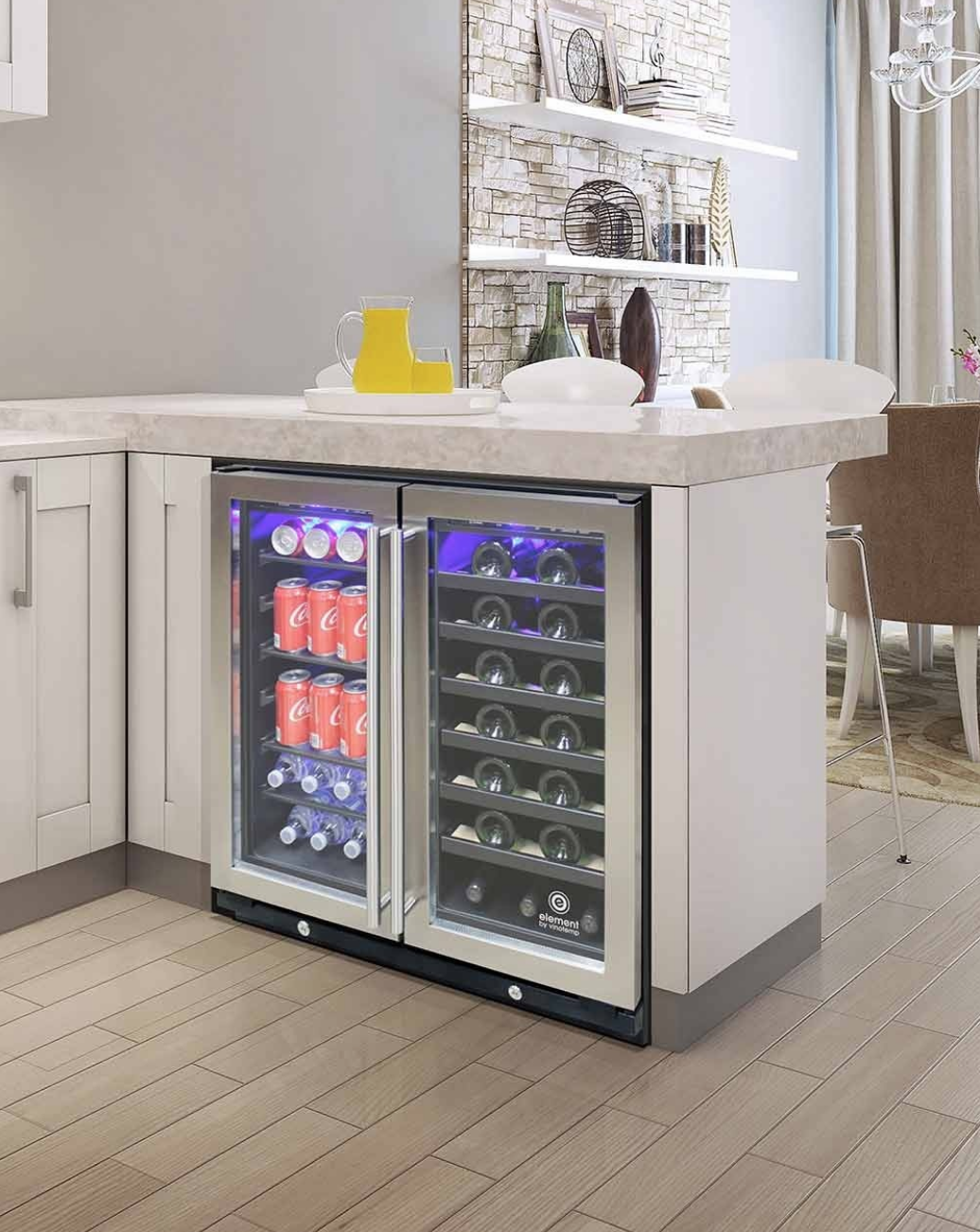 The weekend is here! 🎉🍾🍷 Vinotemp's new, 30inch wide wine