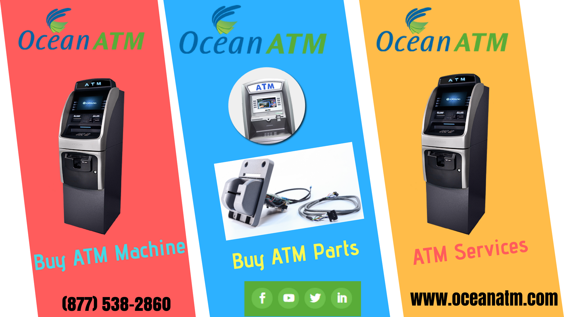 Pin on ATM Maintenance Services | Buy ATM Machine for ...