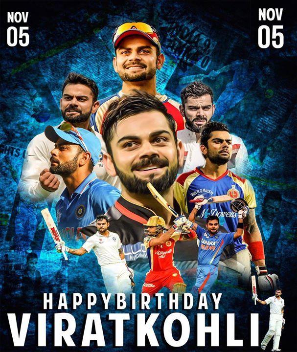 Happy Birthday Virat Kohli http//ift.tt/1ZZ3e4d (With
