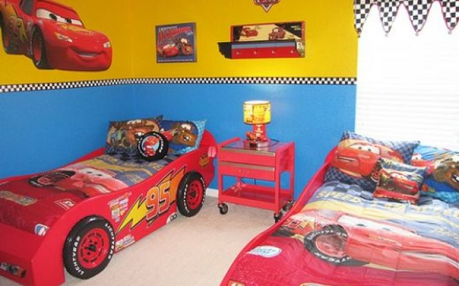 Cars 2 Bathroom Decor