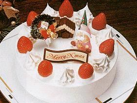 Japanese Christmas Cake is eaten on Christmas Eve and often ...