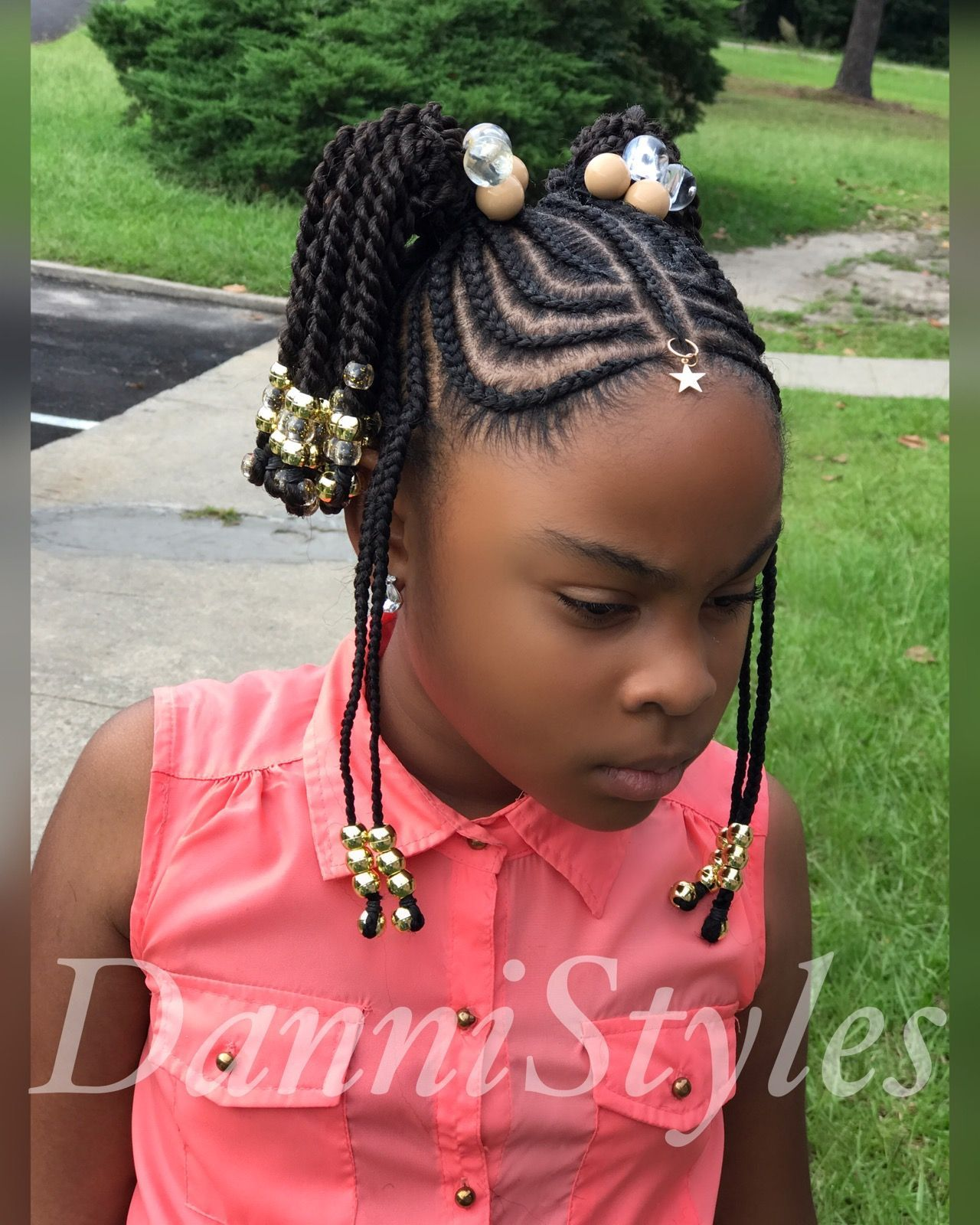 tribal braids for kids #dannistyles | lil diva hair & styles