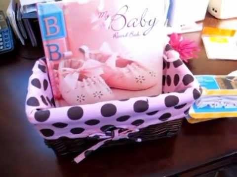 baby shower gift idea and bonus homemade card, Baby shower invitation
