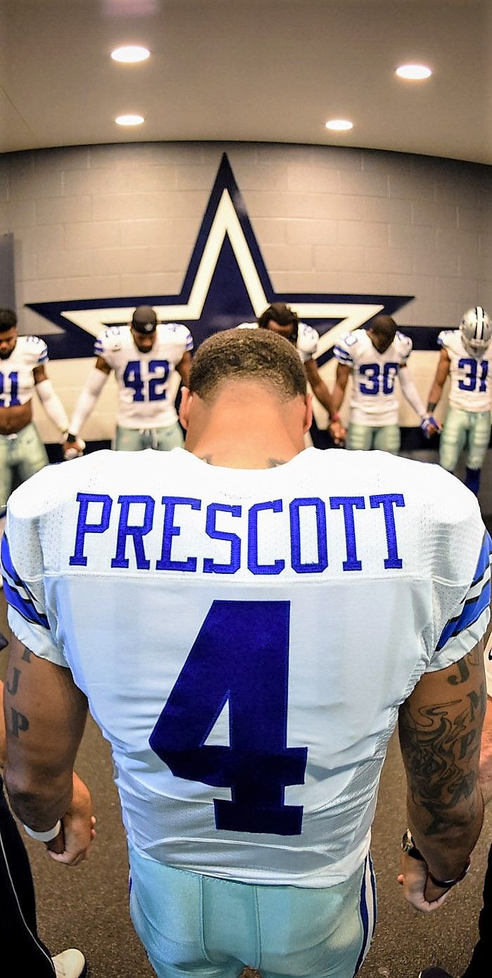 a9af93121 Futebol Americano · Dak Prescott (4) Dallas Cowboys Kings