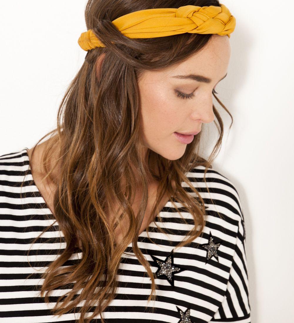 Headband tressé jaune Camaïeu 2017   Mode - idées   Pinterest ... ce8024cc858