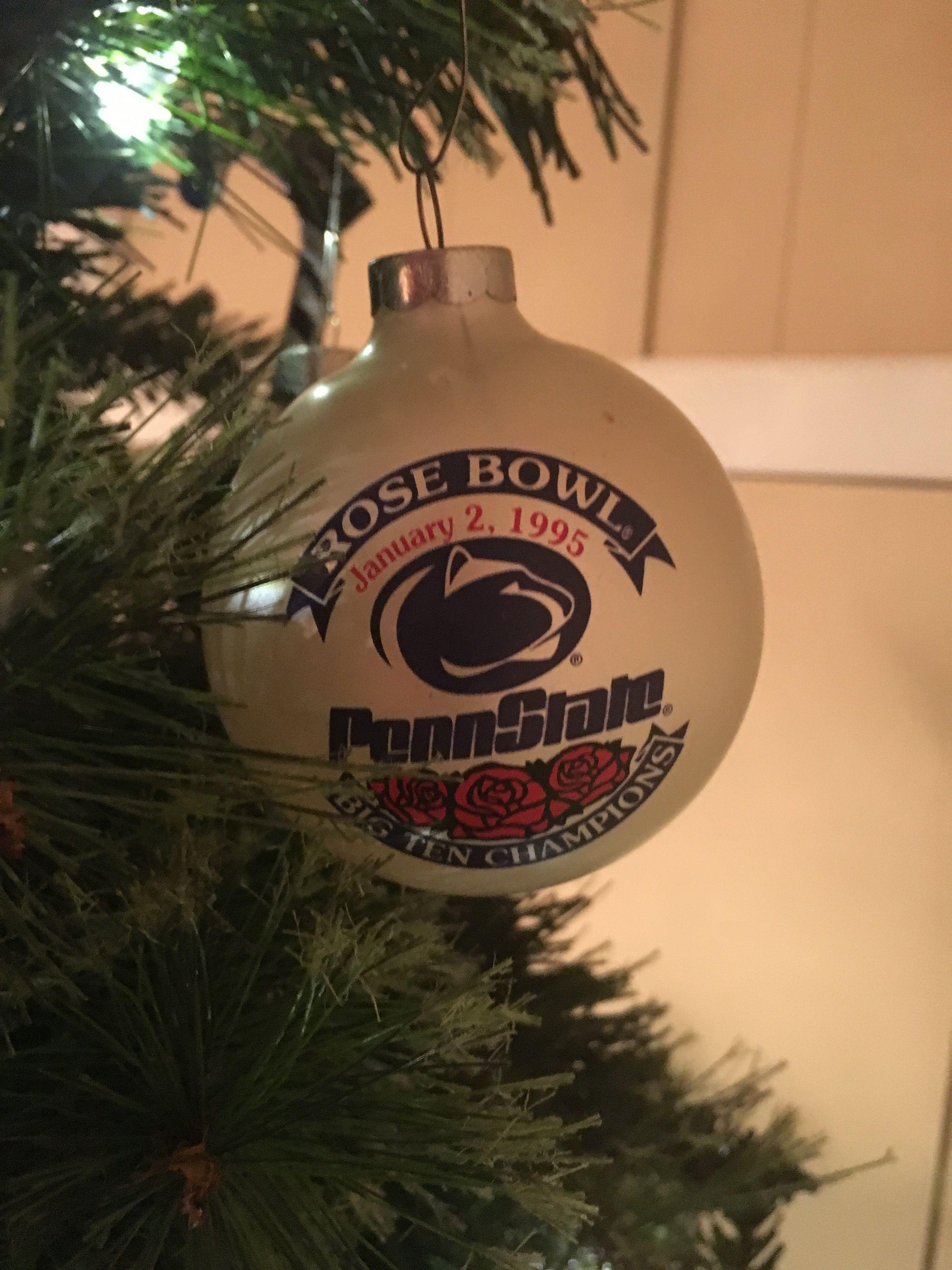 Penn State 1995 Rose Bowl Christmas Ornament | Christmas ...