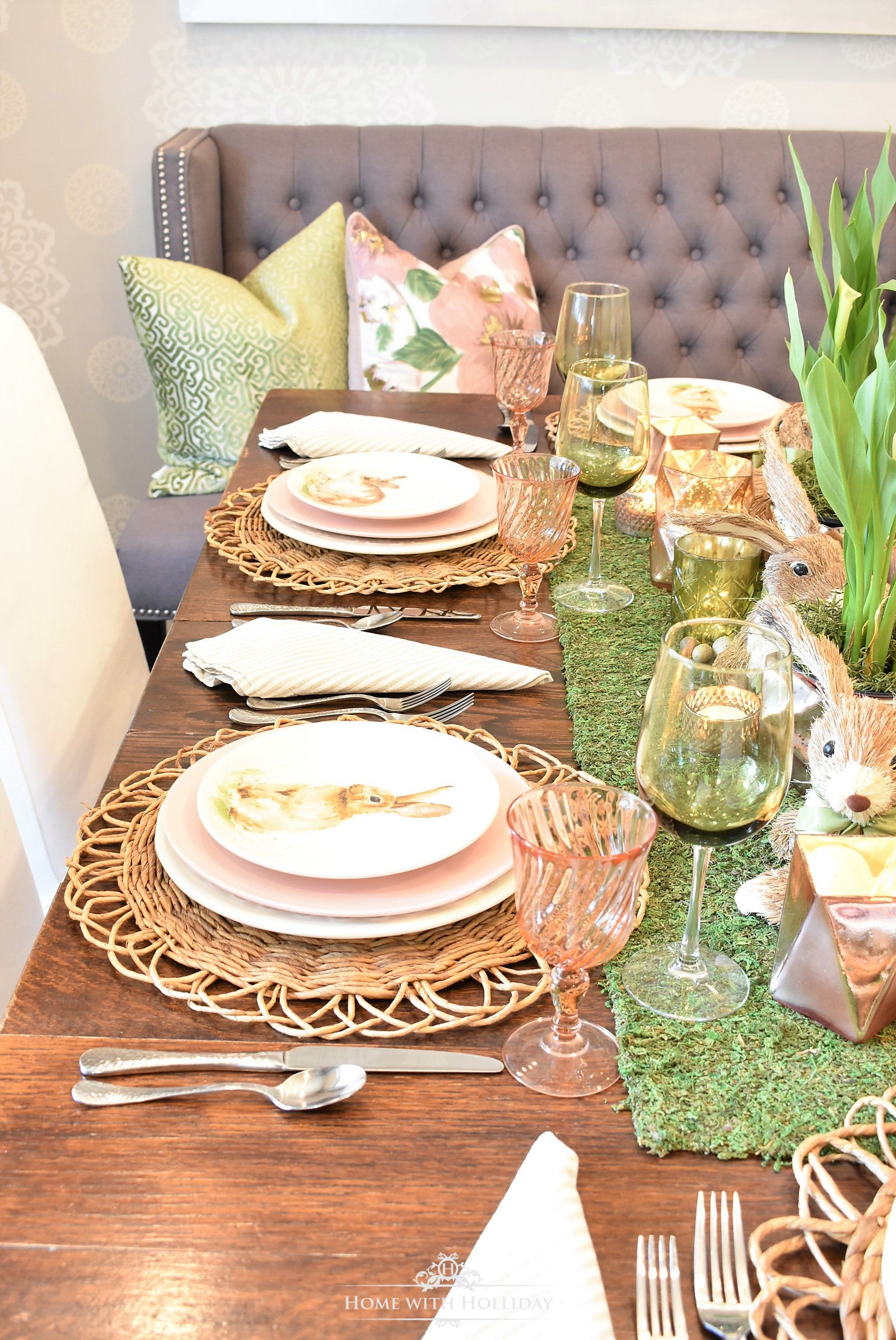 Easter Home Tour 2018 With Images Easter Table