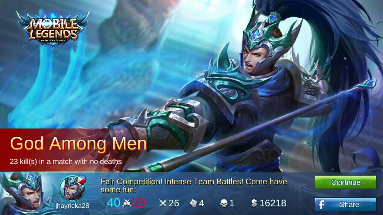 Mobile Legends Yun Zhao