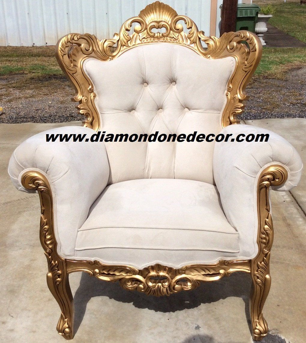 Baroque Velvet Victorian Louis Xv French Reproduction Rococo Chair Hand Carved Mahogany Can Be Made In Most Colors The Matching Sofa And Love Seat