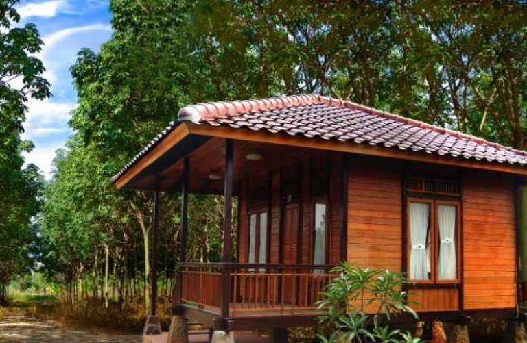 Gambar Rumah Kayu Sederhana Di Desa Tiny House Design House In The Woods Wood House Design